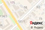 Схема проезда до компании Розовая Пантера в Новокубанске