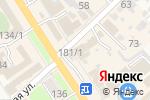 Схема проезда до компании Южная оконная компания в Новокубанске
