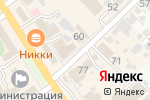 Схема проезда до компании Алые паруса в Новокубанске