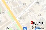 Схема проезда до компании Пульсар в Новокубанске