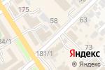 Схема проезда до компании Кадастровый инженер Сотников Д.В. в Новокубанске