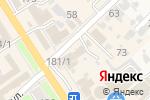 Схема проезда до компании Доброта в Новокубанске