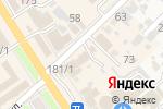 Схема проезда до компании Общероссийское общество инвалидов в Новокубанске