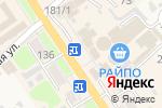 Схема проезда до компании Апрель в Новокубанске