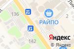 Схема проезда до компании Микрофинансовая Организация Управляющая Компания Деньги Сразу Юг в Новокубанске