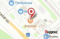 Схема проезда до компании Antonio в Иваново