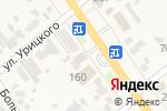 Схема проезда до компании СанЛюкс в Новокубанске