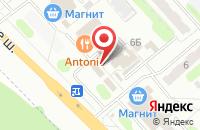 Схема проезда до компании Чинар в Иваново