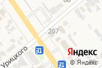 Схема проезда до компании Автокросс в Новокубанске