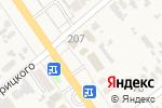 Схема проезда до компании Нана в Новокубанске