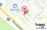 Схема проезда до компании Новый лидер в Иваново
