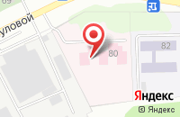 Схема проезда до компании МЕДСАНЧАСТЬ ИВАНОВОИСКОЖ в Иваново