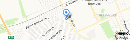 Главная дорога на карте Армавира