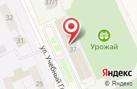 Схема проезда до компании Студенческая федерация Киокусинкай Костромской области в Караваево