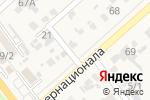 Схема проезда до компании Шиномонтажная мастерская в Новокубанске