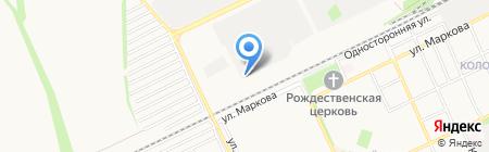 Управление механизации №2 на карте Армавира