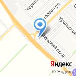 Мастерская по ремонту автостекла на карте Армавира