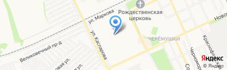 Средняя общеобразовательная школа №4 на карте Армавира