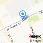 Всероссийское общество автомобилистов на карте Армавира