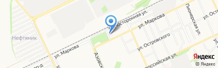 Городская поликлиника №3 на карте Армавира