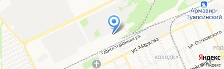 ЗИМ на карте Армавира