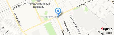 Сдоба на карте Армавира