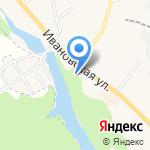 Шиномонтажная мастерская на карте Кохмы