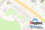 Схема проезда до компании Магазин одежды в Кохме