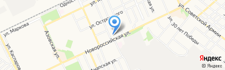 Банкомат Газпромбанк на карте Армавира