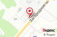 Схема проезда до компании У камина в Иваново