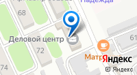 Компания Мегафон на карте