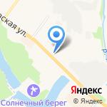 Швейная фабрика на карте Кохмы