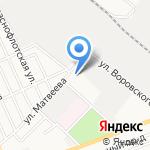 Межрайонный регистрационно-экзаменационный отдел ГИБДД на карте Армавира