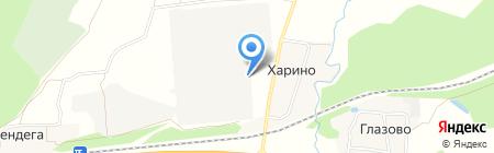 Костромская птицефабрика на карте Губачёво