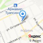 МОНРО на карте Армавира