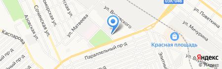 Модуль-Авто на карте Армавира