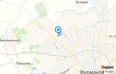 Местоположение на карте пункта техосмотра по адресу Ивановская обл, г Фурманов, ул Парижской Коммуны, д 44