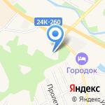 Кохомская коррекционная школа-интернат на карте Кохмы