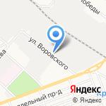 Автомоечная станция на карте Армавира