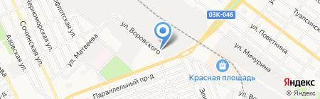 АГРОСБЫТ на карте Армавира