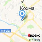 Сбербанк на карте Кохмы