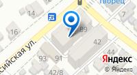 Компания БлинBerry на карте