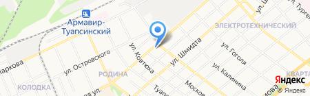 БлинBerry на карте Армавира