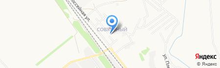 Детская поликлиника №1 на карте Армавира
