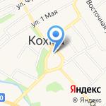 Ивановский центр профессиональной подготовки и повышения квалификации кадров Федерального Дорожного Агентства на карте Кохмы