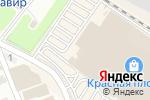 Схема проезда до компании Красная Площадь в Армавире