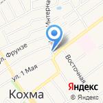 Кохомское автотранспортное предприятие на карте Кохмы