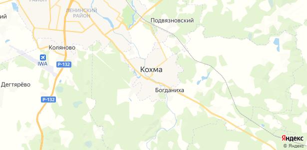 Кохма на карте