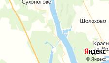 Гостиницы города Лунево на карте