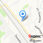 Библиотека им. А.П. Чехова на карте Армавира